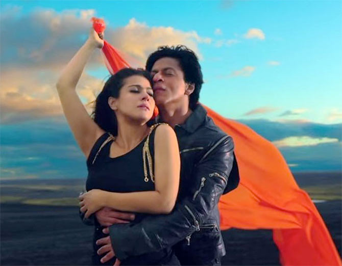 Kajol and Shah Rukh Khan