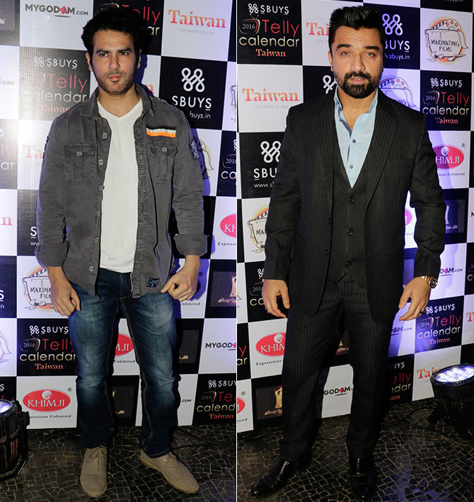 Amit Varma and Ajaz Khan
