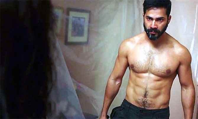 Varun Dhawan in Badlapur.