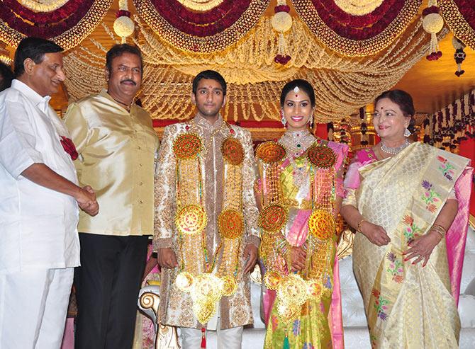 Pix A Wedding In Mahesh Babu S Family Rediff Com Movies