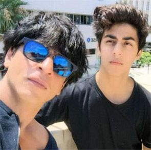 Shah Rukh Khan and Aryan