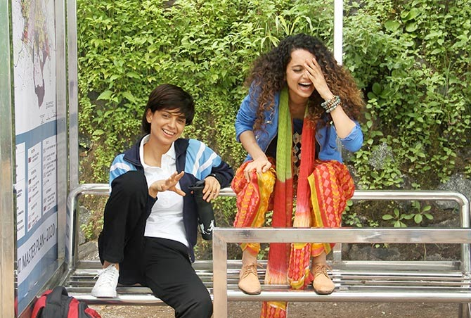 Kangana Ranaut in Tanu Weds Manu Returns