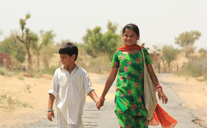 A scene from Dhanak