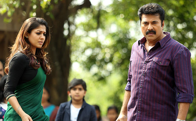 Nayantara, Mammootty in Bhaskar the Rascal