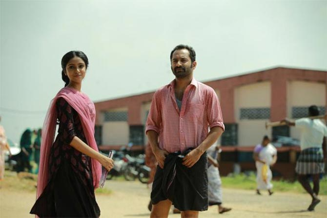 Sana Althaf and Fahadh Faasil in Mariyam Mukku