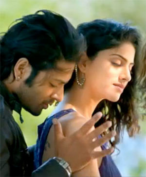 Ali Fazal and Sapna Pabbi in Khamoshiyan