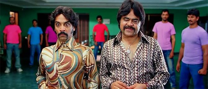 Vrajesh Hirjee and Sanjay Mishra in Golmaal 3