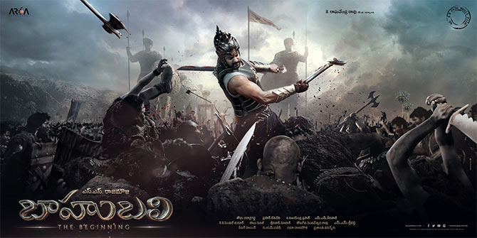 The Bahubali poster
