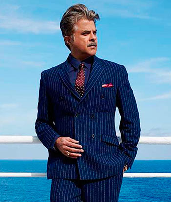 It was called the George Clooney look. Now, it will be the Anil ...