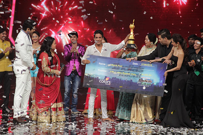 Manik Paul at the grand finale