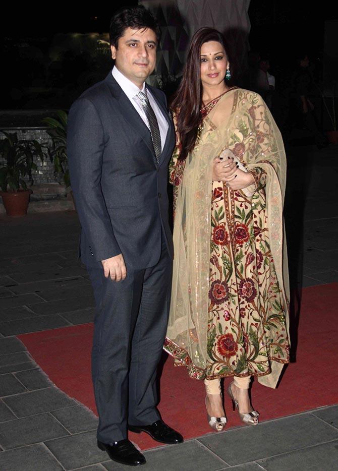 5958abdcc8 PIX: Sunny Leone, Sridevi, Jacqueline go GLAM at wedding reception -  Rediff.com movies
