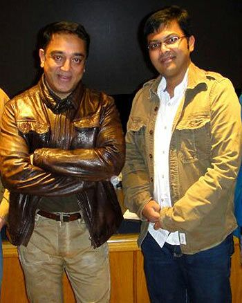 Kamal Haasan and Kunal Rajan