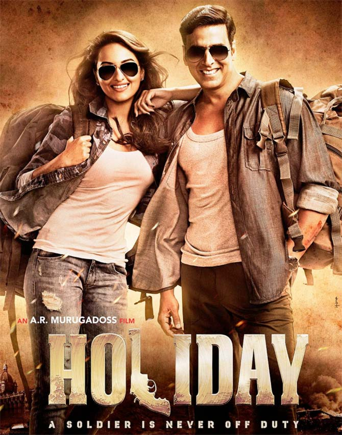 Movie poster of Holiday