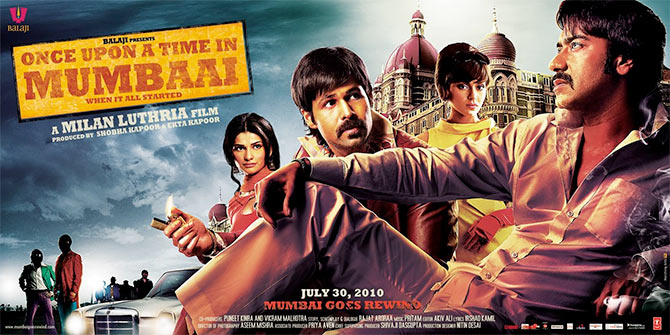 Movie poster of Once Upon A Time in Mumbaai