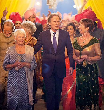 A scene from The Second Marigold Hotel