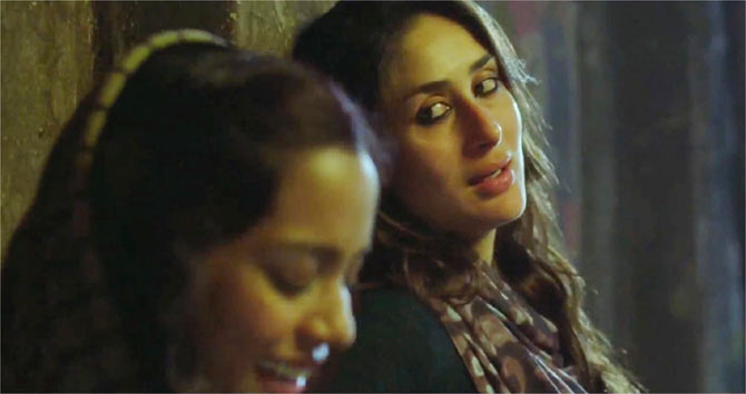 Shahana Goswami and Kareena Kapoor in Heroine