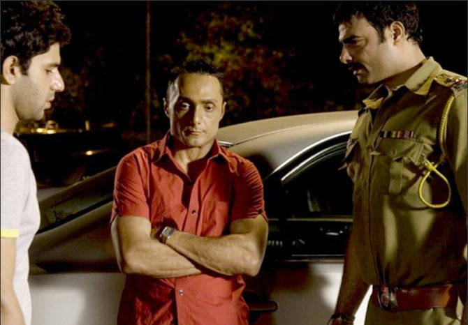Arjun Mathur and Rahul Bose in I Am