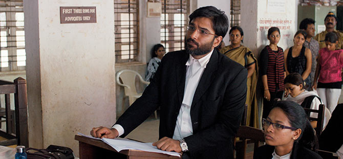 Vivek Gombre in Court