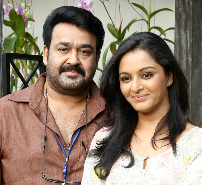 Mohanlal and Manju Warrier in Ennum Eppozhum