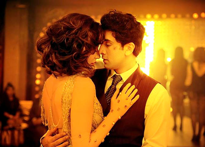 Anushka Sharma and Ranbir Kapoor in Bombay Velvet