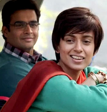 R Madhavan and Kangna Ranaut in Tanu Weds Manu Returns