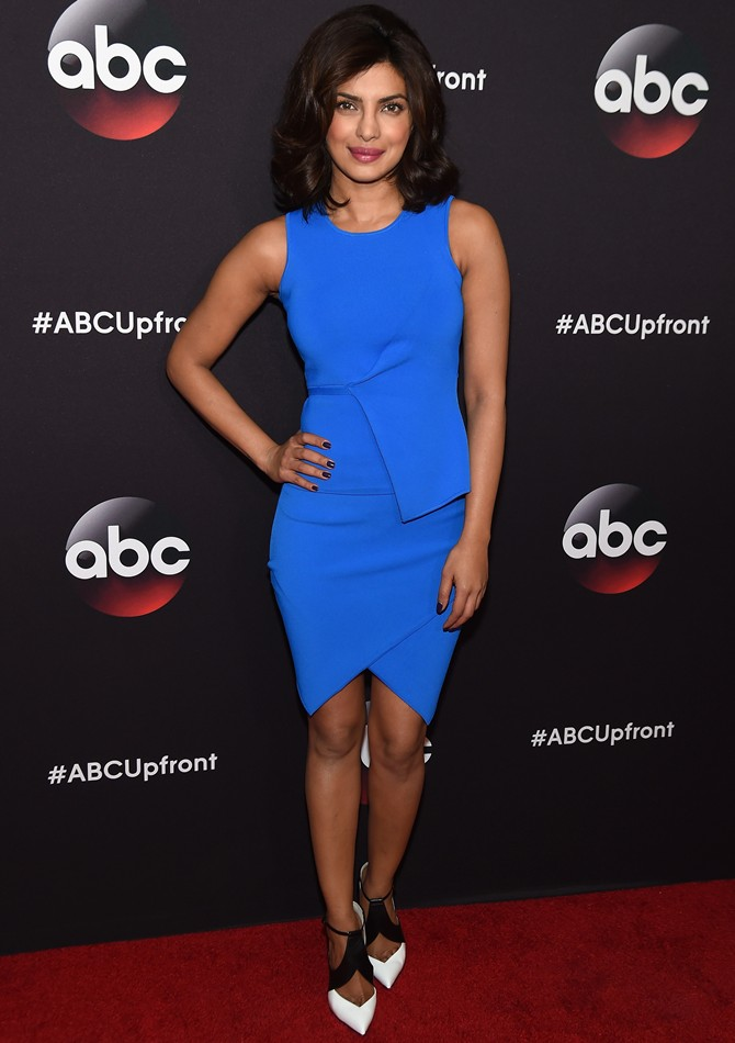 Priyanka Chopra at an ABC Upfront event in New York City.