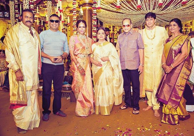 Political big-wigs, tinsel town grace Telugu actor Manoj