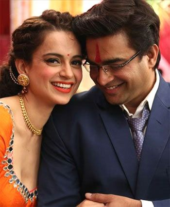 Kangana Ranaut and R Madhavan in Tanu Weds Manu Returns
