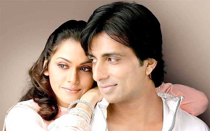 Esha Koppikar and Sonu Sood