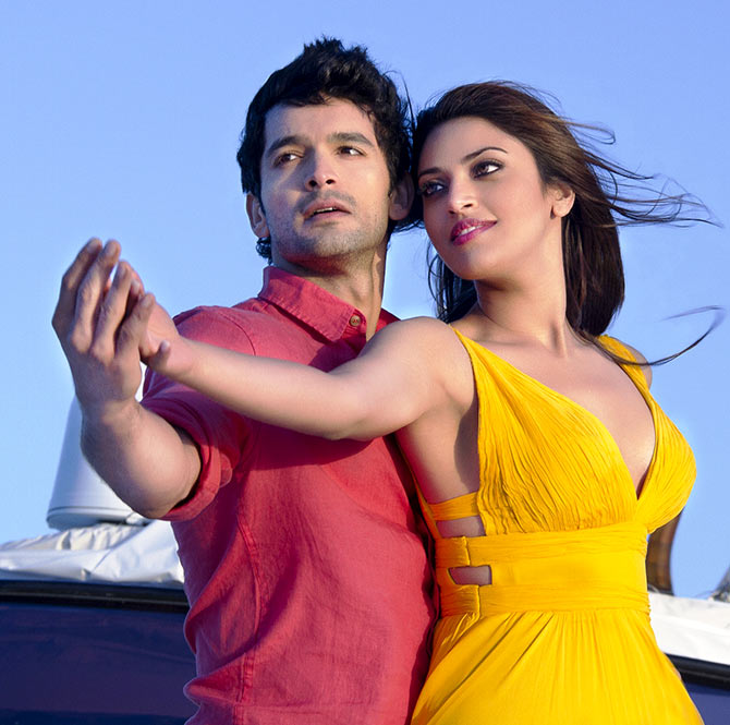 Diganth Manchale and Anushka Ranjan in Wedding Pulav
