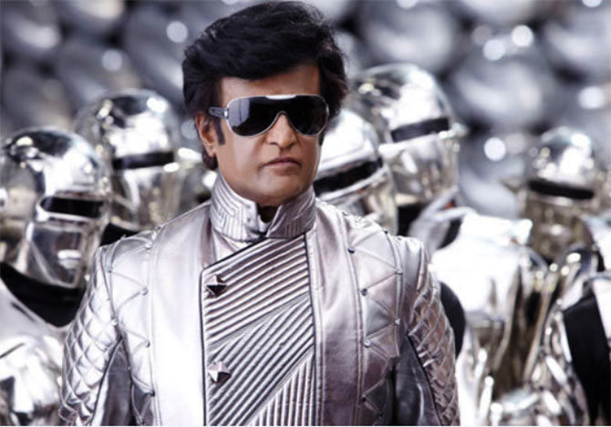 Rajinikanth in Enthiran