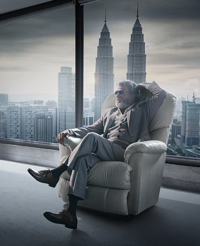 Rajnikanth in Kabali