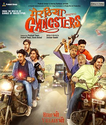 The poster for Meeruthiya Gangsters.