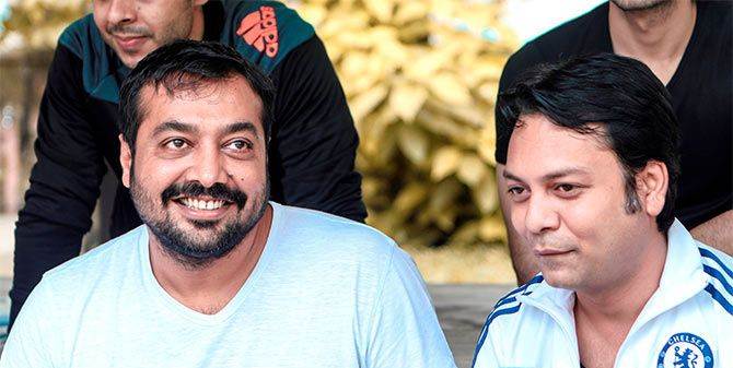 Zeishan Quadri and Anurag Kashyap