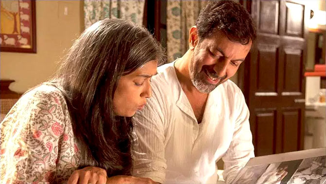 Ratna Pathak Shah and Rajat Kapoor