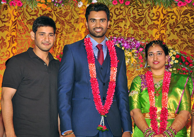 PIX: Mahesh Babu at a wedding - Rediff com movies