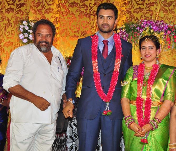 PIX: Mahesh Babu at a wedding - Rediff com movies