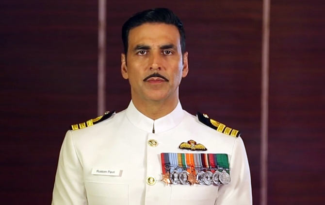 Akshay Kumar in Rustom, which won him the National Award