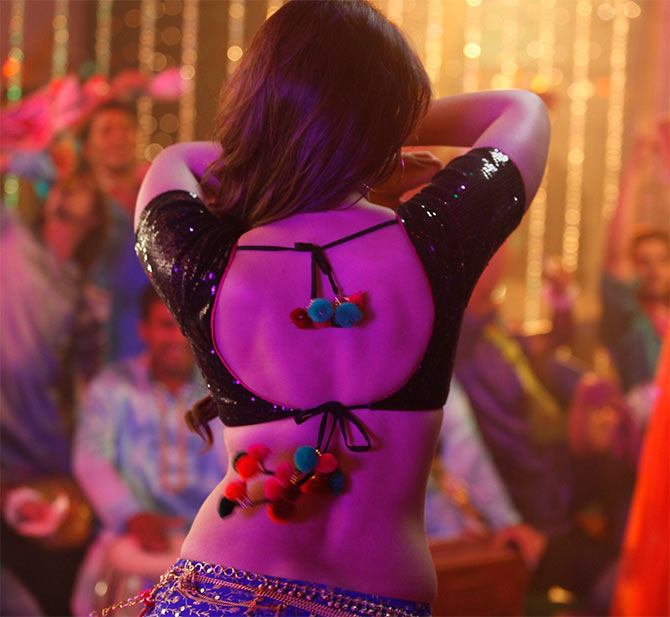 Jacqueline, Katrina, Sunny: Who has the SEXIEST back? VOTE! - Rediff