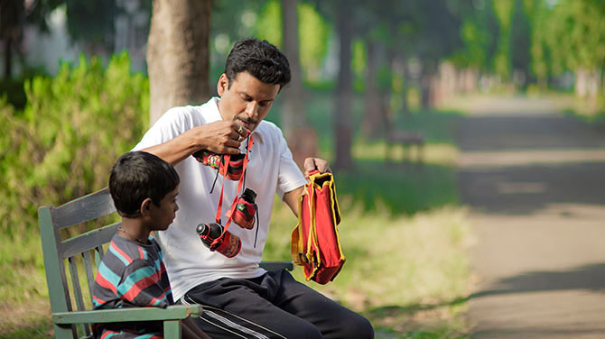 Mayur Patole and Manoj Bajpayee
