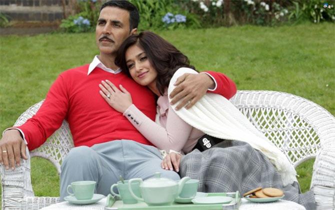 Akshay Kumar and Ileana D'Cruz