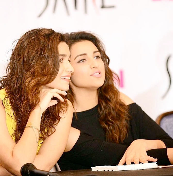 Alia Bhatt, Parineeti Chopra