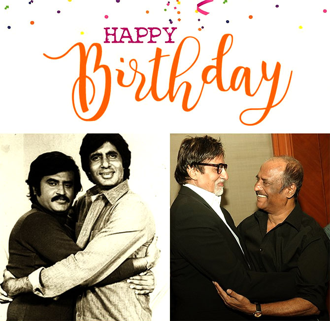 Pix Happy Birthday Rajinikanth Rediff Com Movies