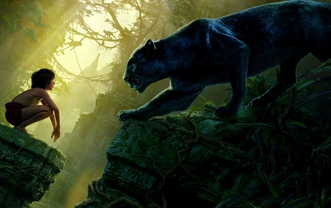 The Jungle Book Mowgli and Bagheera