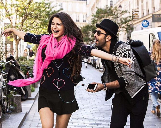 Anushka Sharma and Ranbir Kapoor in Ae Dil Hain Mushkil