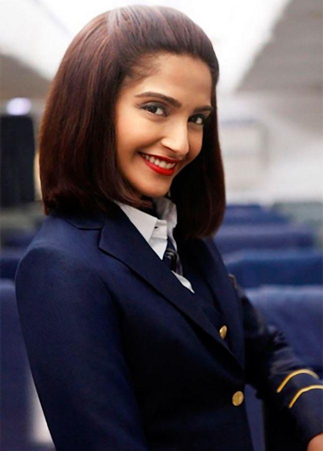 Sonam Madhuri Bollywood S Starriest Air Hostesses Rediff Com Movies