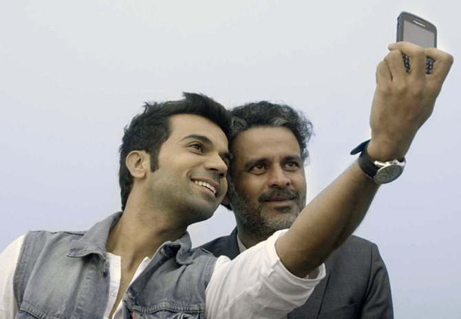 Rajkumar Rao and Manoj Bajpai in Aligarh