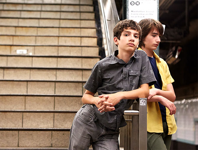 A scene from Little Men