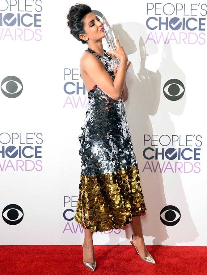 Winning the People's Choice award for Quantico