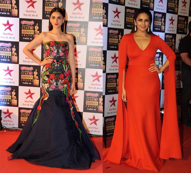PIX: Shriya Saran, Sonam, Bachchans at Star Screen awards - Rediff